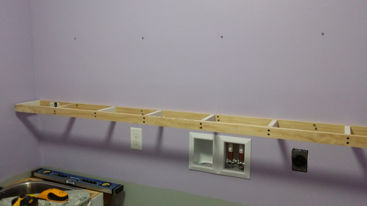 """Extra Long 76"""" Floating Shelf - DIY Projects"""