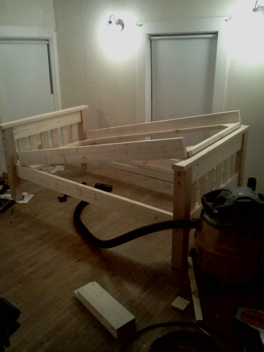 Bunk Bed S Per Ana White Plan Ana White Woodworking Projects