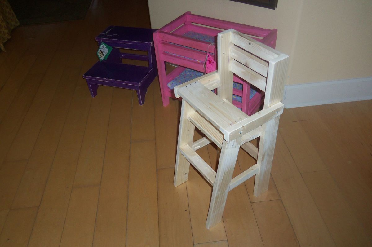 Ana White Doll High Chair For Birthday Diy Projects