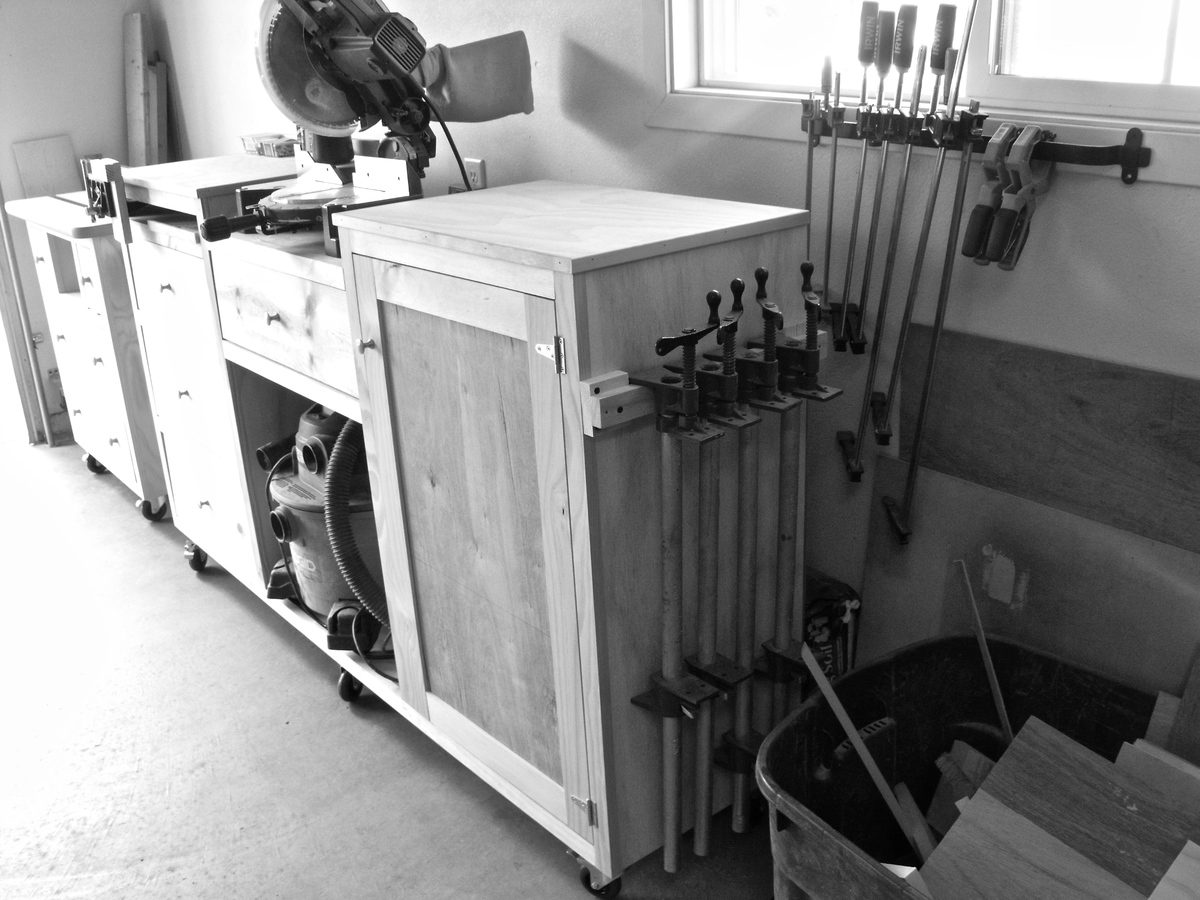 Ana White Wood Shop Storage Solutions Diy Projects