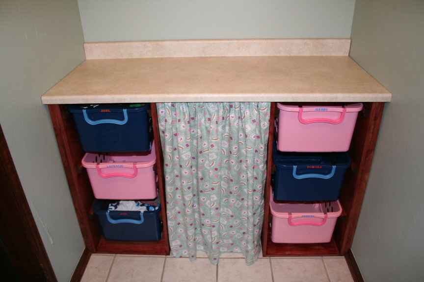 Ana White Laundry Basket Dresser And Countertop Diy