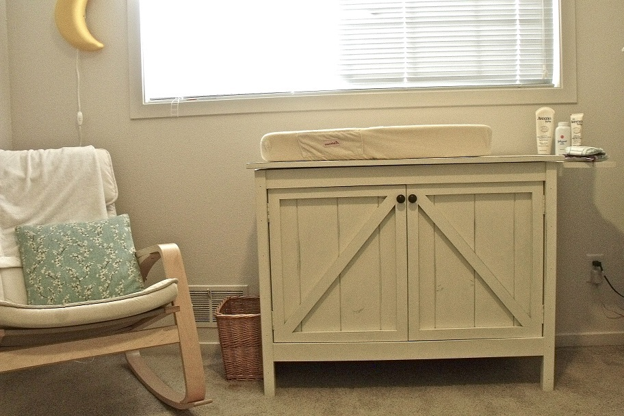 Ana White Changing Table Brookstone Diy Projects