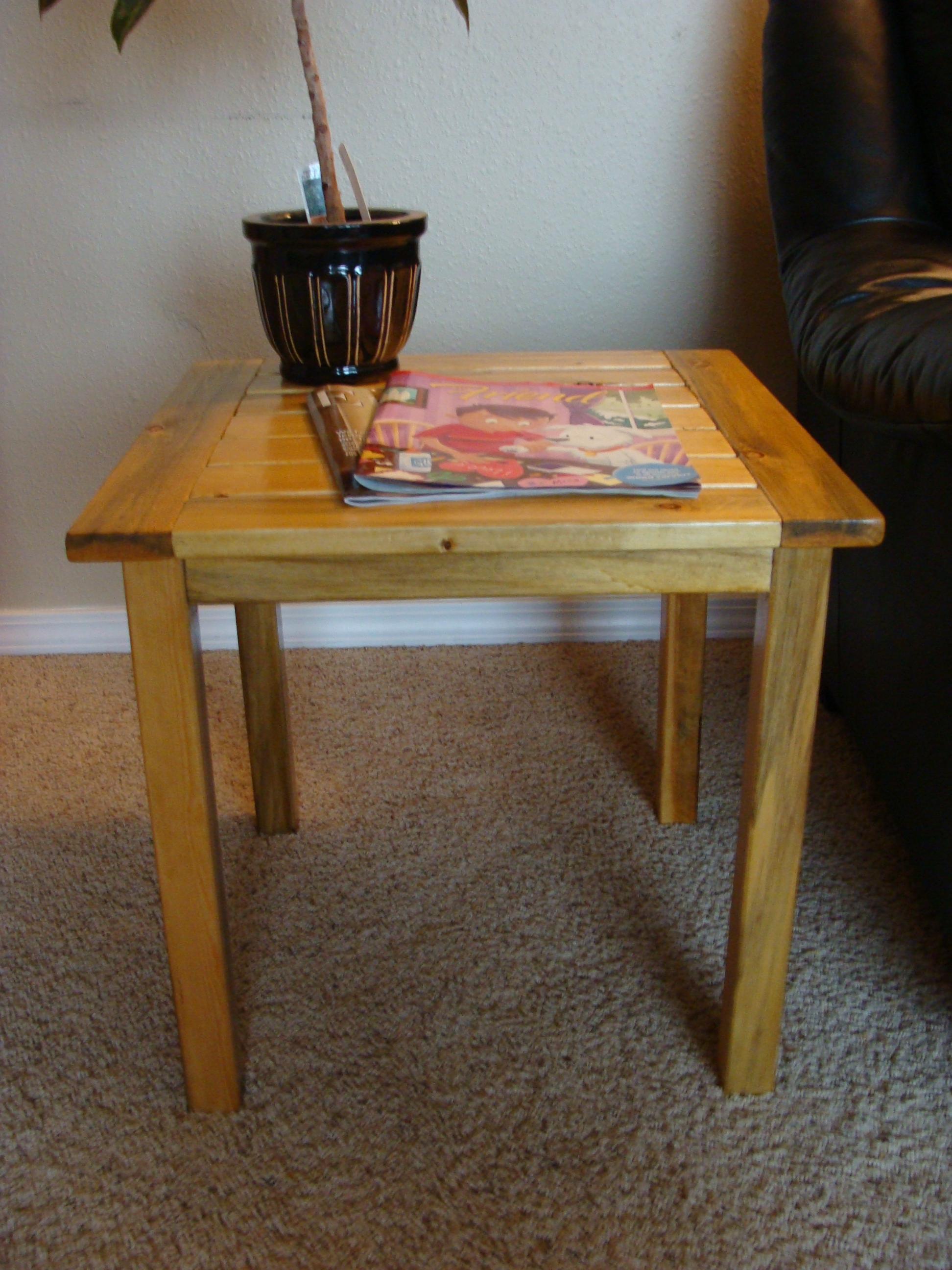Ana White Simple Side Table Diy Projects