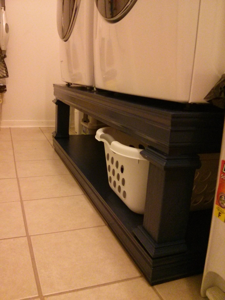 Ana White Washer Dryer Stand Diy Projects