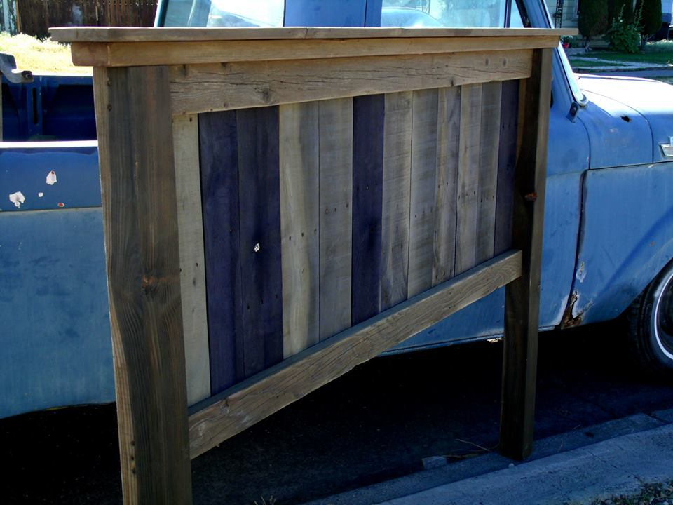 Ana White Quot Barnwood Quot Head Board Diy Projects