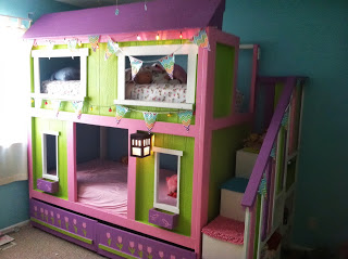 Ana White Craftsman Style Sweet Pea Bunk Beds Diy Projects