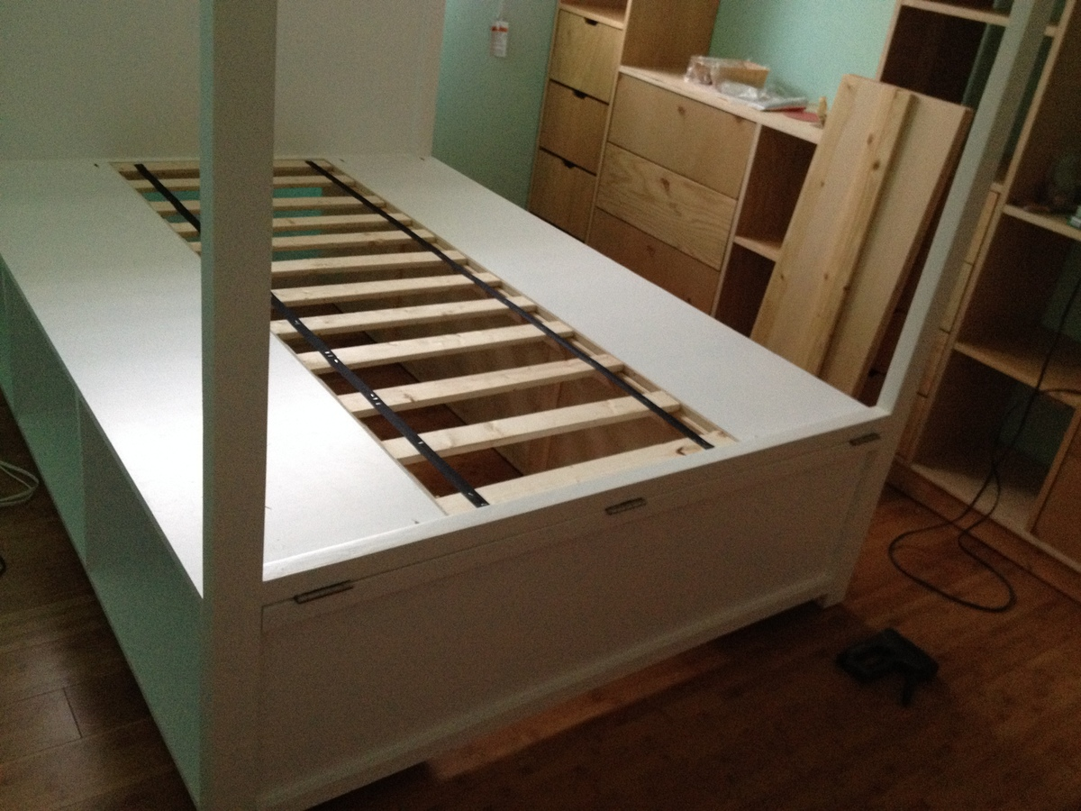 Canopy Storage Bed