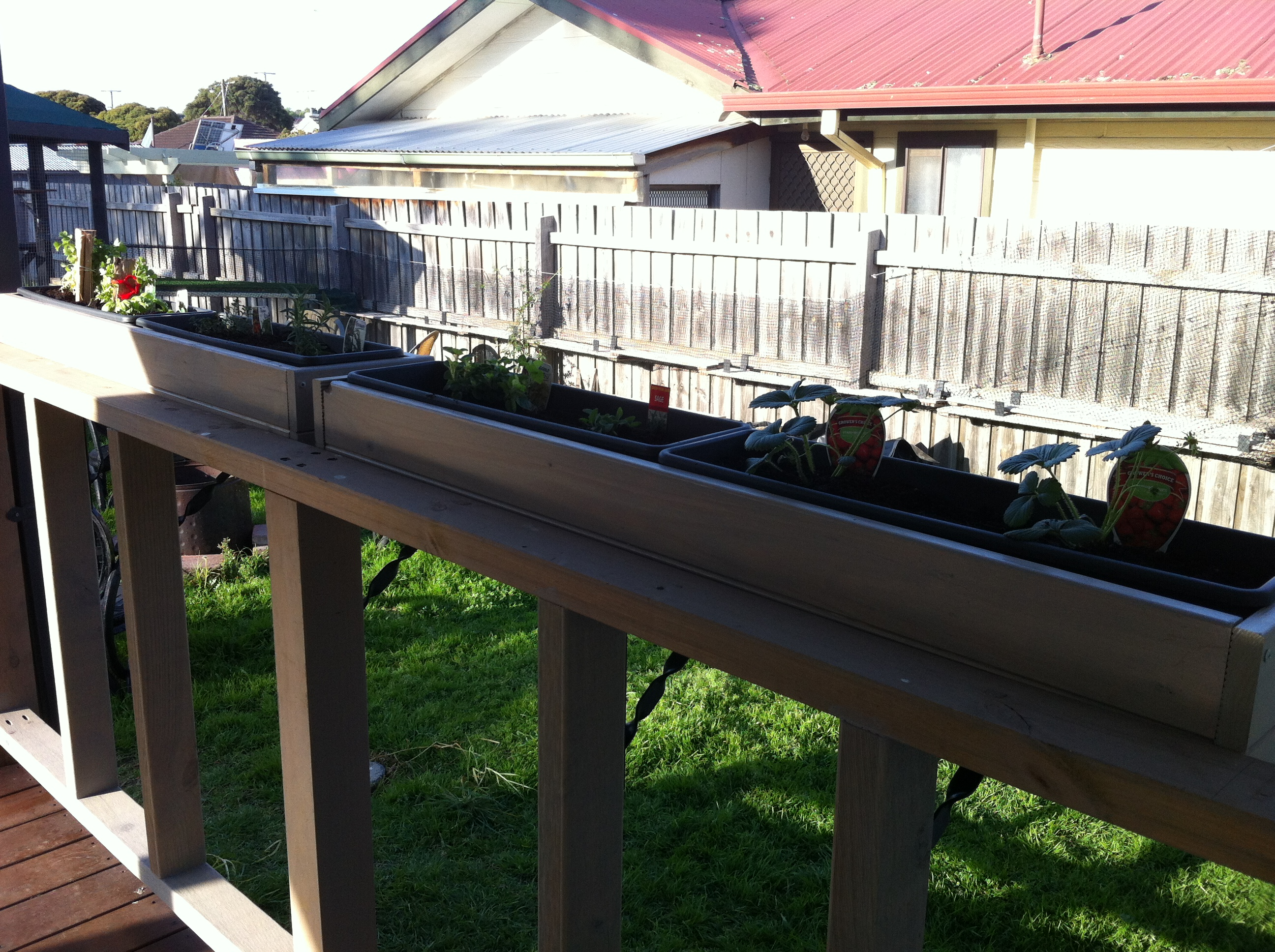 ana white herb boxes for the deck diy projects