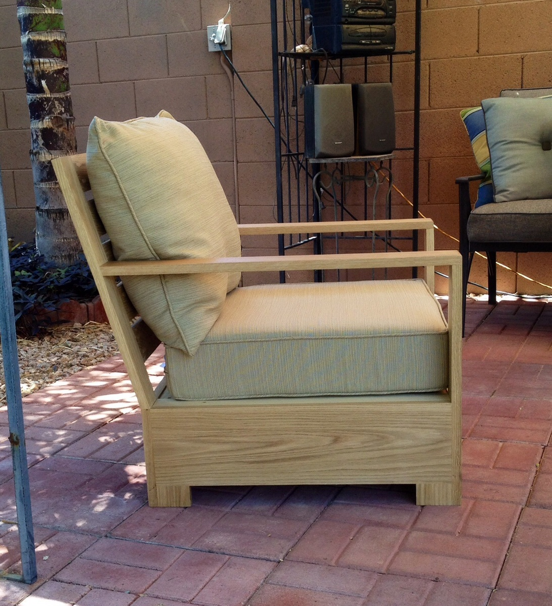 Ana White Bristol Outdoor Lounge Chair Diy Projects