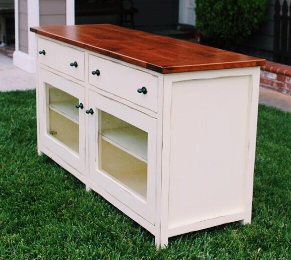 Pottery Barn Benchwright TV Stand - DIY Projects