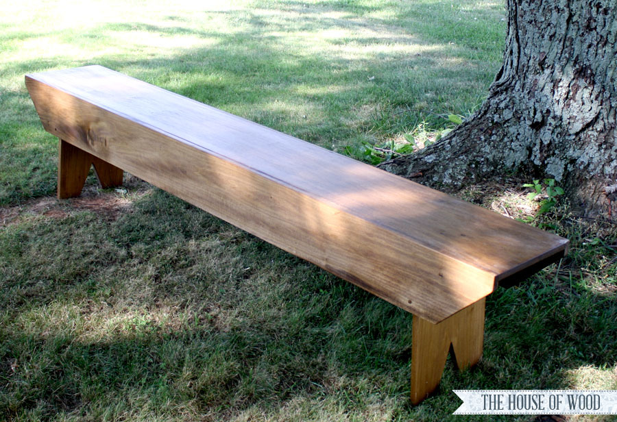 Country Wooden Benches Part - 33: Primitive Bench For Haven Conference