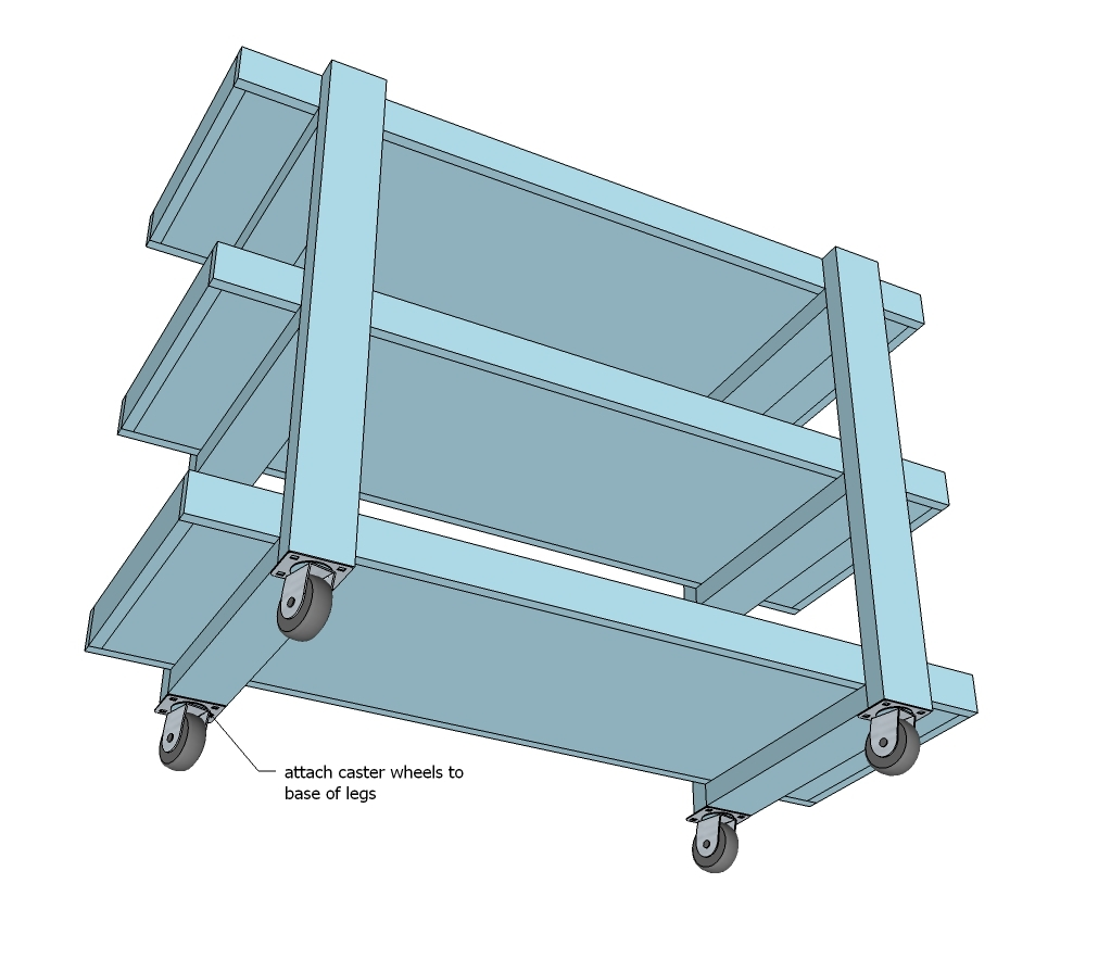 Ana White   Home Depot DIH Workshop Rolling Storage Cart - DIY Projects