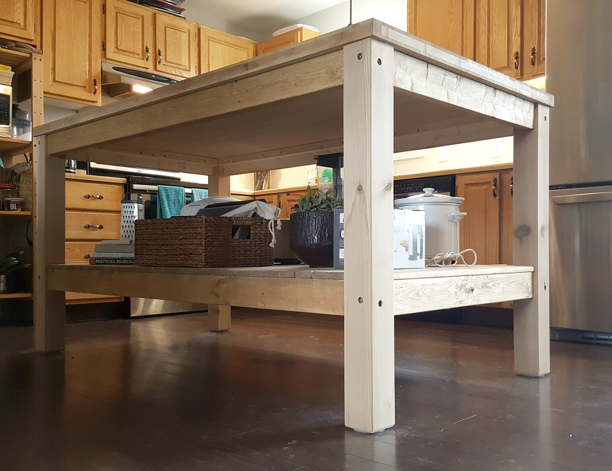 Kitchen Island Diy Projects: Weekend Project: DIY Kitchen Island - DIY Projects