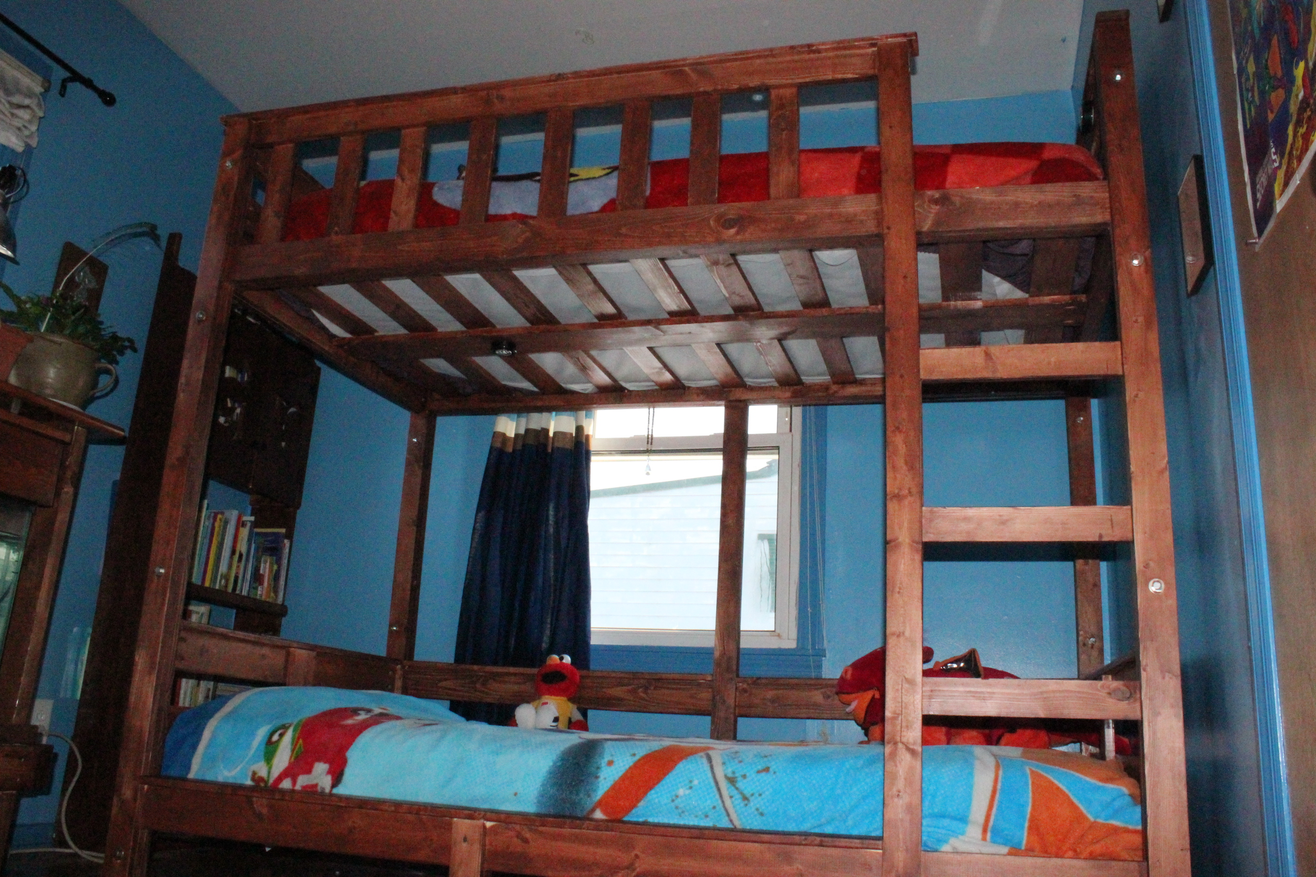 Ana White Children S Bunk Bed Diy Projects