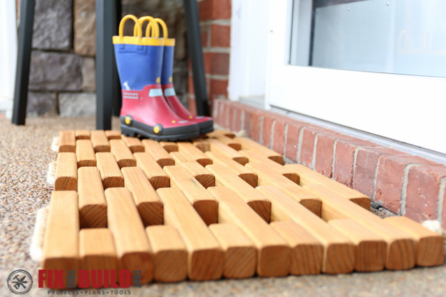 Ana White Wooden Doormat Diy Projects