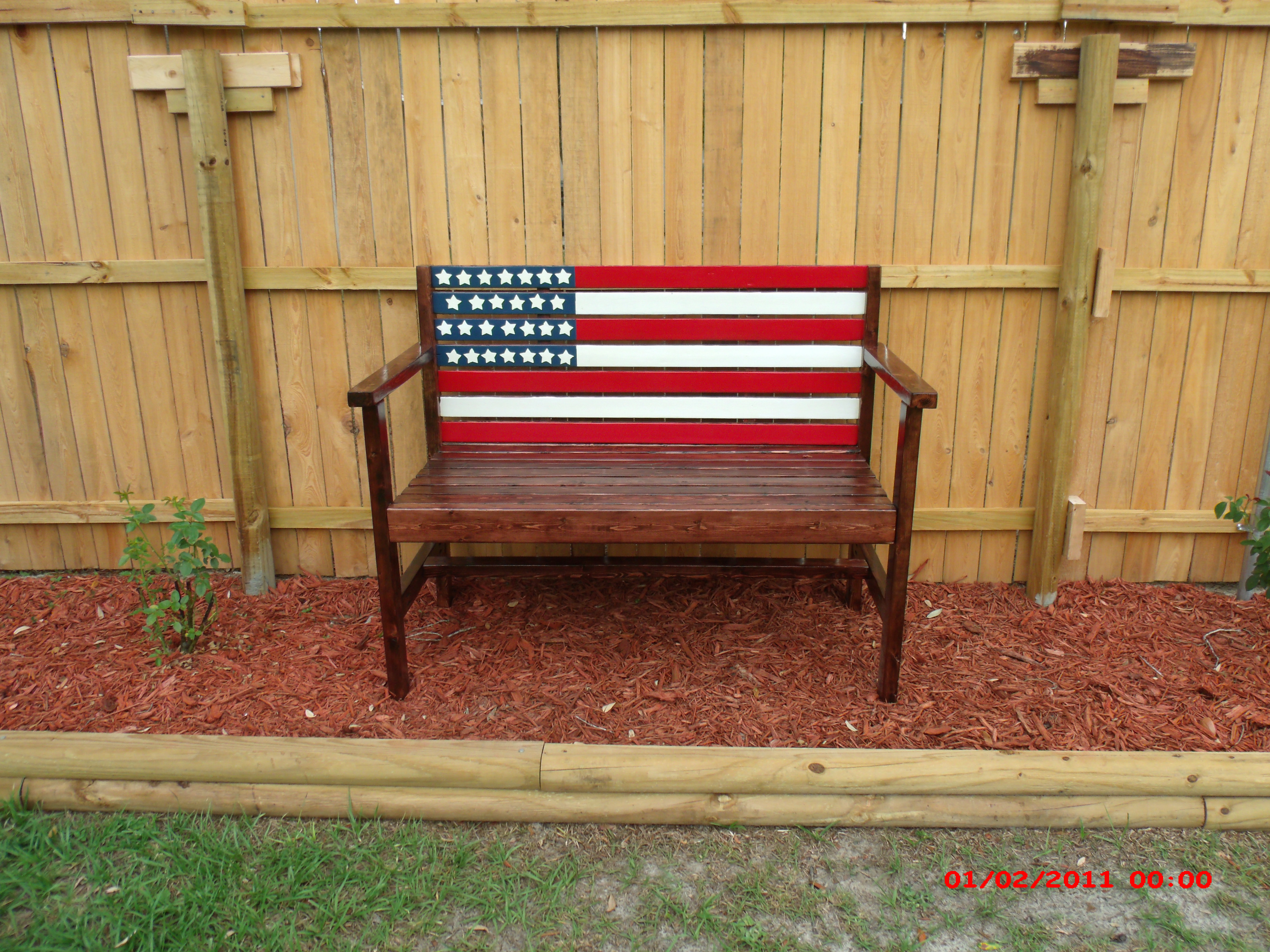 Sensational Ana White Flag Garden Bench Diy Projects Pdpeps Interior Chair Design Pdpepsorg