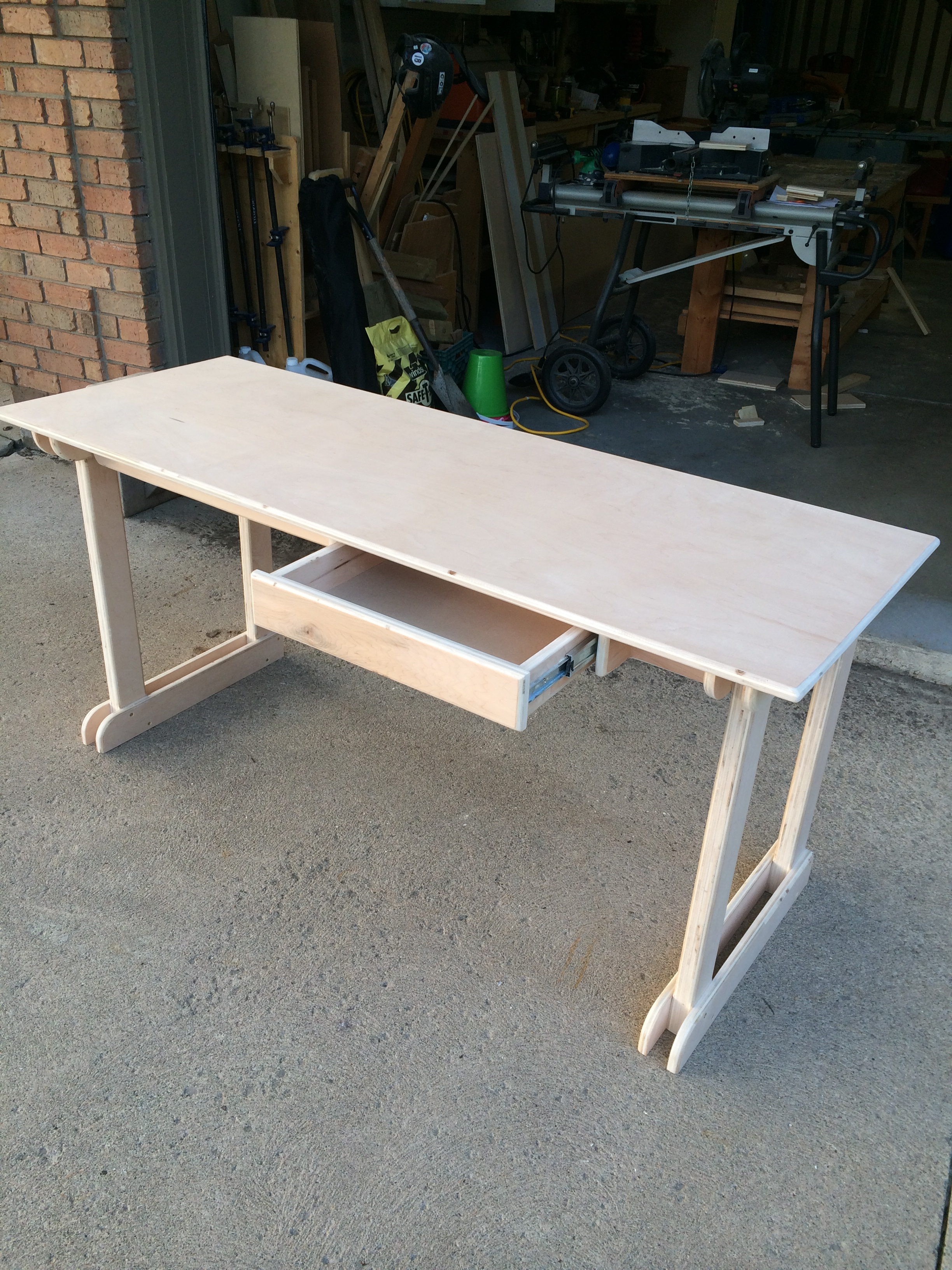 Ana White Plywood Student Desk Diy Projects