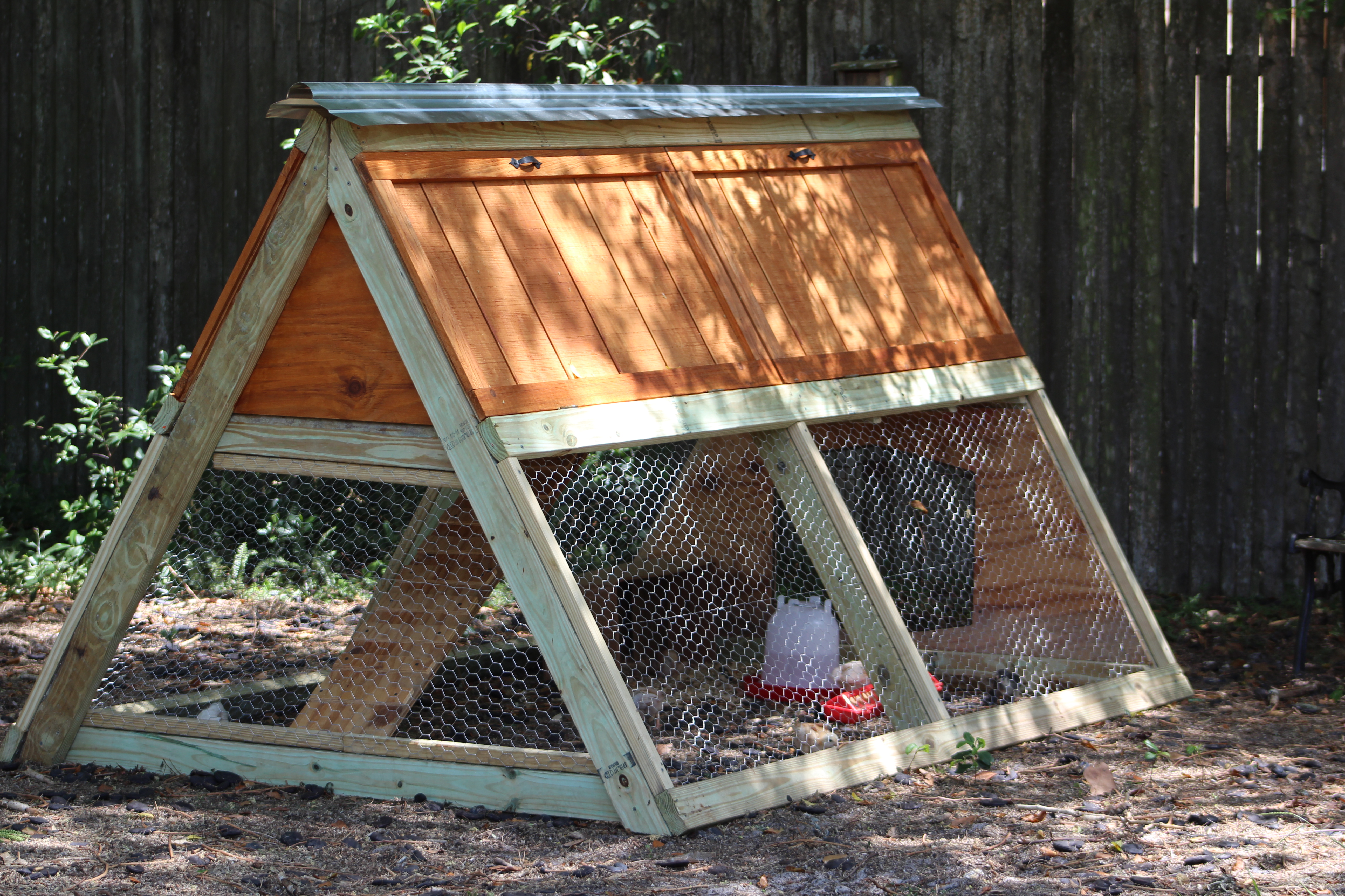 A-Frame Chicken Coop - DIY Projects