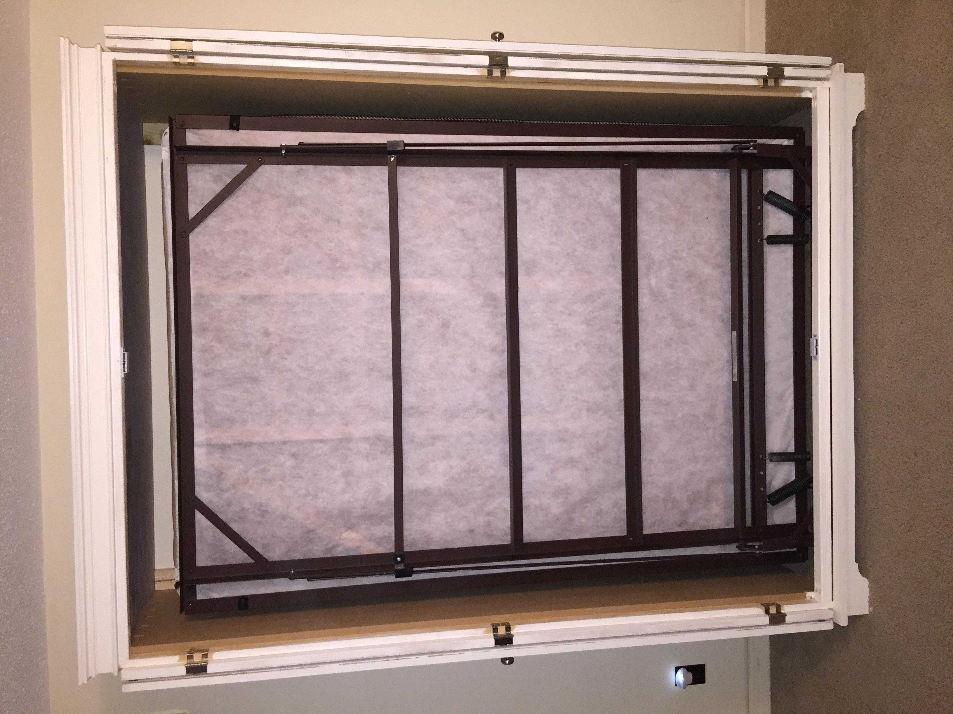 Ana White Murphy Bed Cabinet DIY Projects