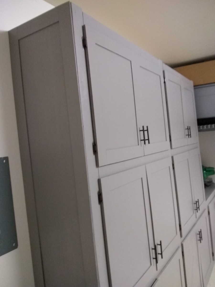 Ana White Garage Shelves With Doors Diy Projects