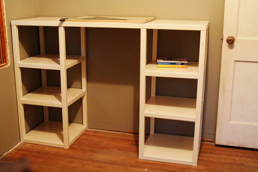ana white parson tower desk diy projects. Black Bedroom Furniture Sets. Home Design Ideas