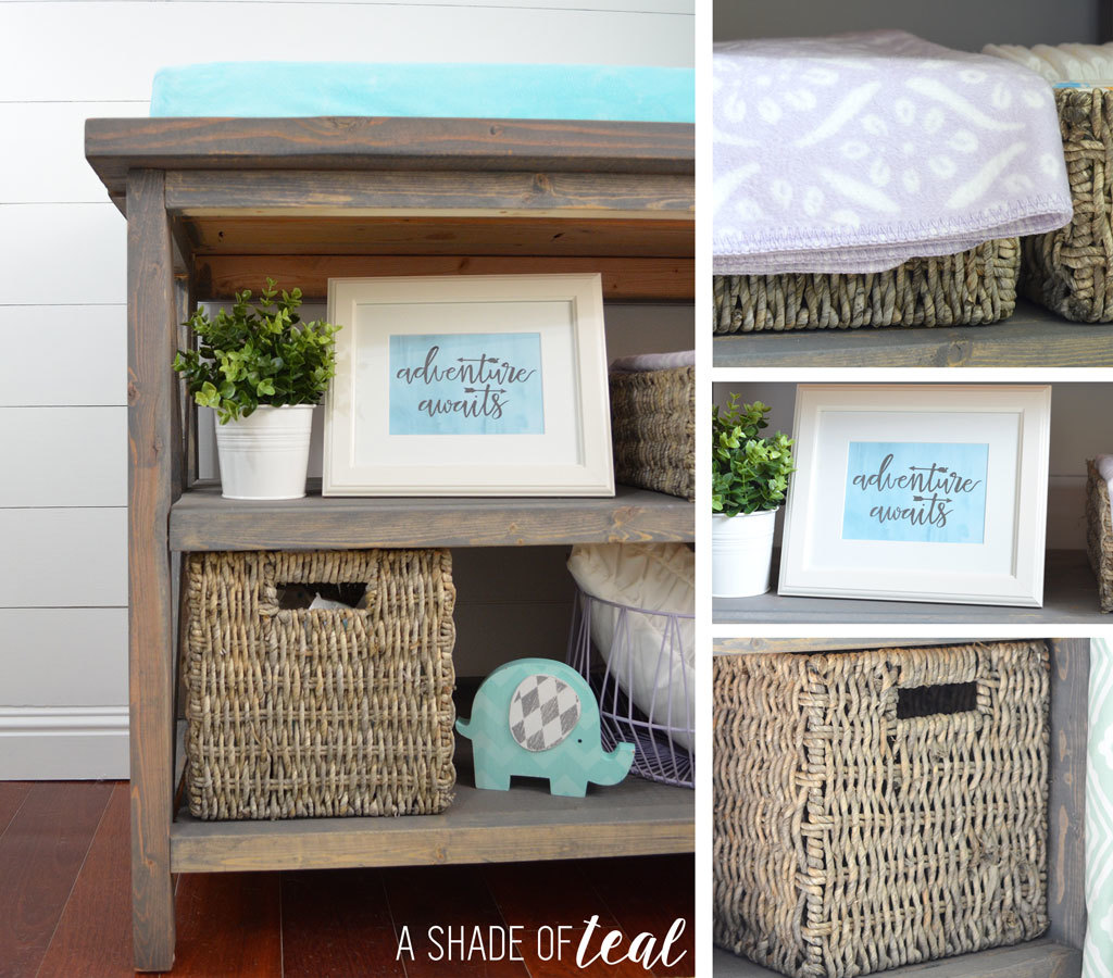 Ana White Rustic Grey Changing Table Diy Projects