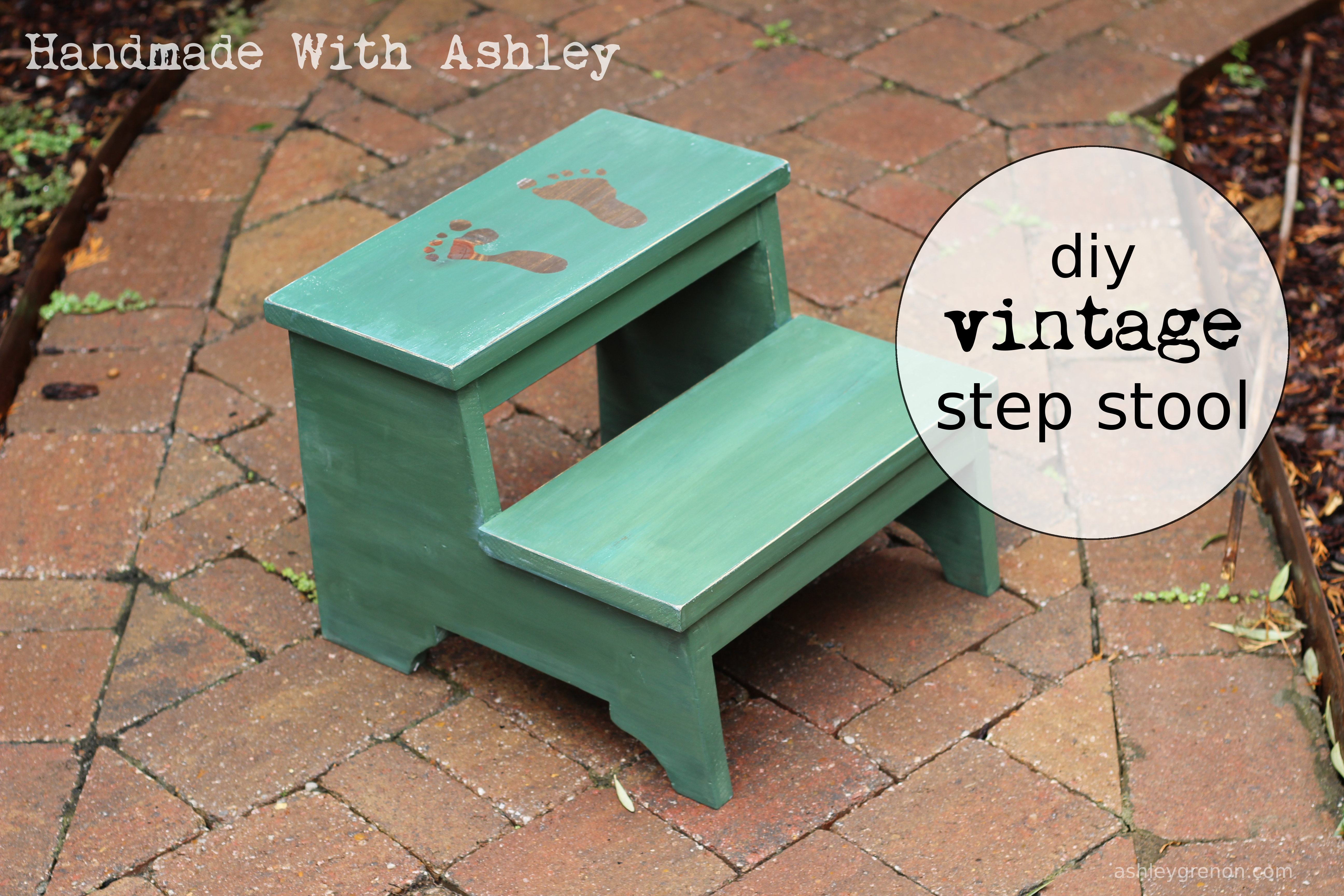 Ana White Diy Vintage Step Stool Diy Projects