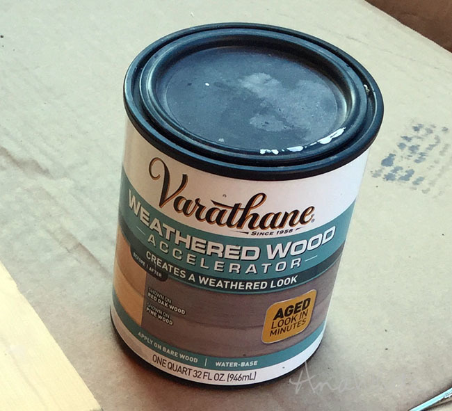 Weve Been Getting Quite A Few Questions And Comments About The Varathane Weathered Wood Accelerator Product So I Thought Id Take Second To Share