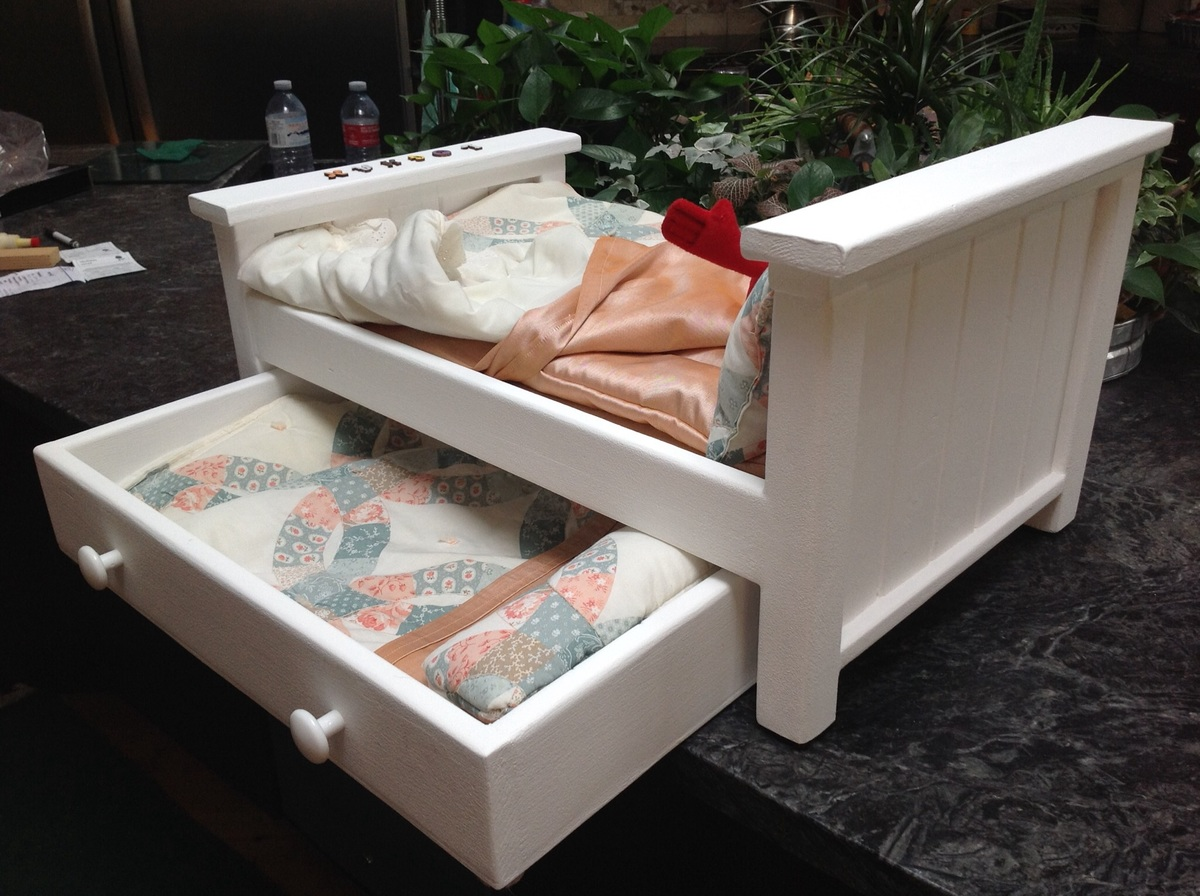 ana white dolls trundle bed