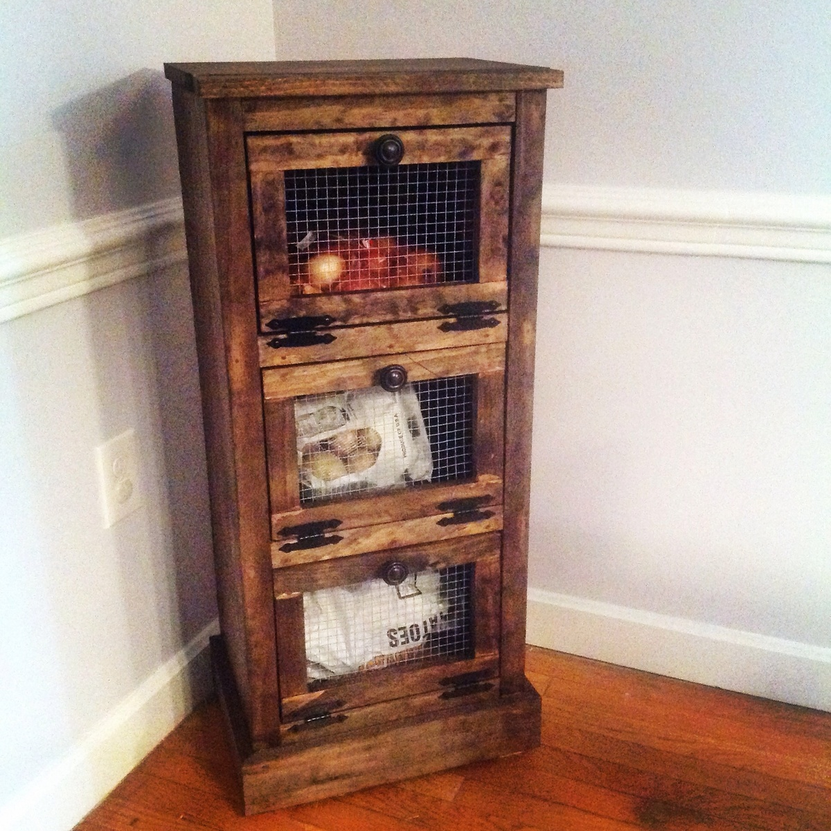 Ana White Vegetable Bin Diy Projects