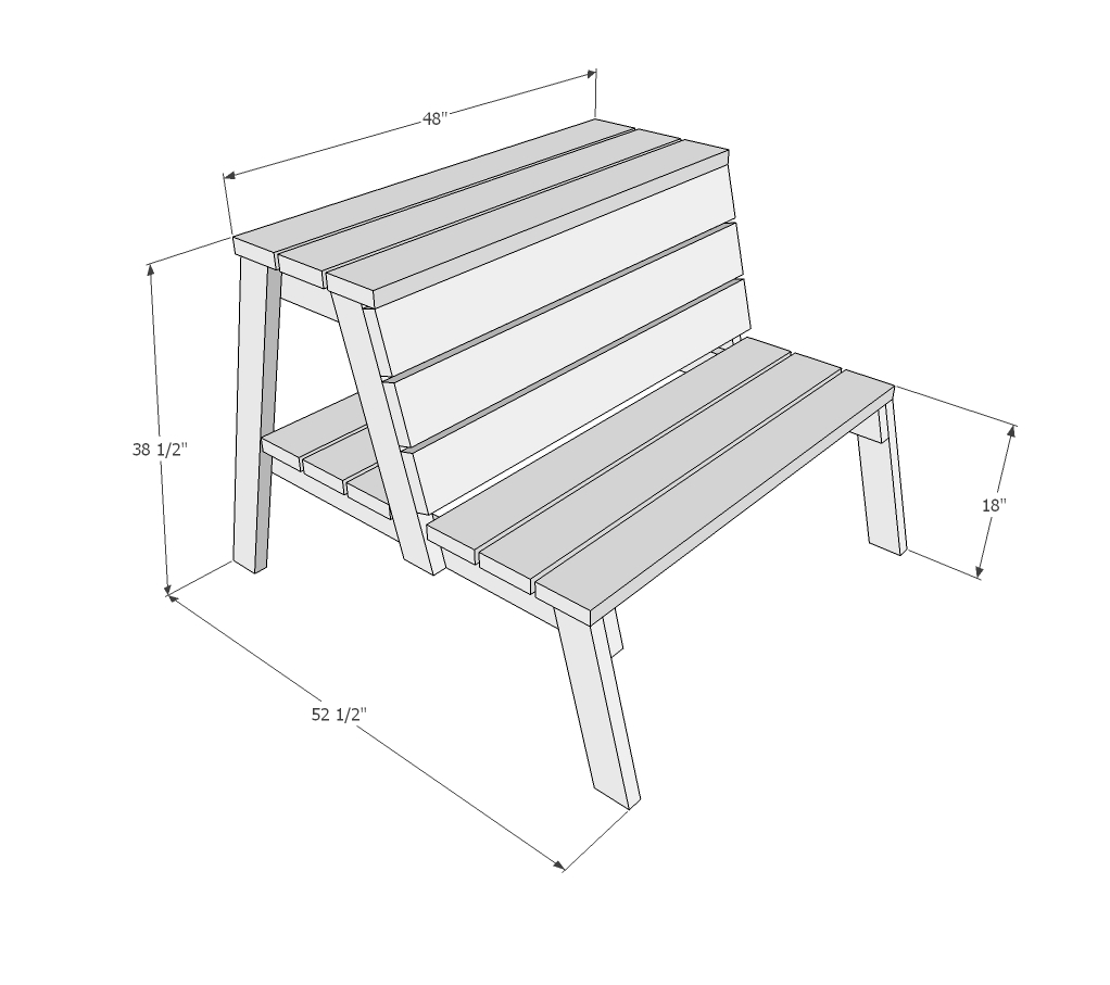 Ana White Firepit Benches With Table And Storage Diy