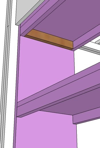 Ana White What Goes Under The Loft Bed How About A Bookcase Diy Projects