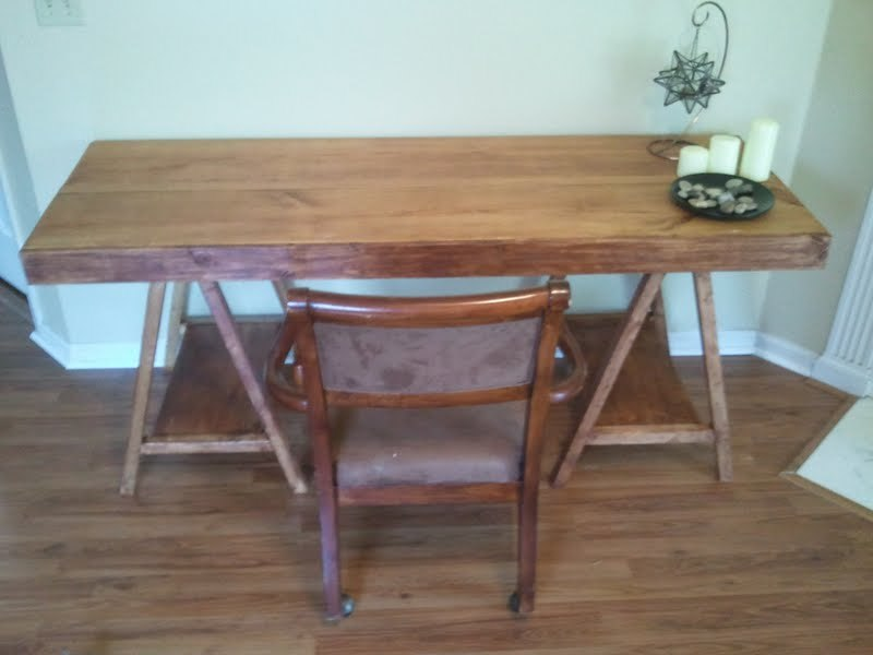 Ana White Rustic Desk Diy Projects
