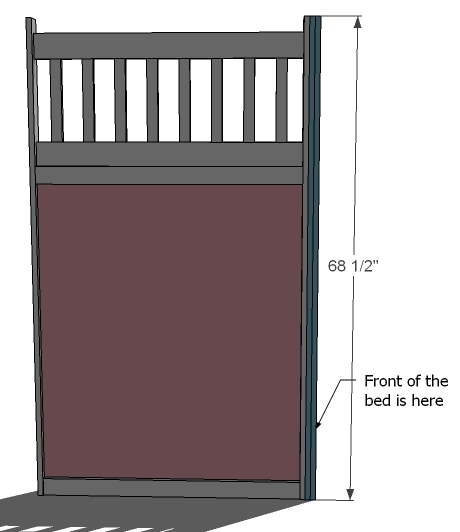 on the outside side of the outside wall the side you left 1u2033 of space attach with 1 14u2033 nails or screws the trim pieces as shown above