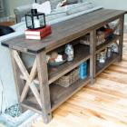 Farmhouse Style Furniture Plans | Ana White Woodworking Projects