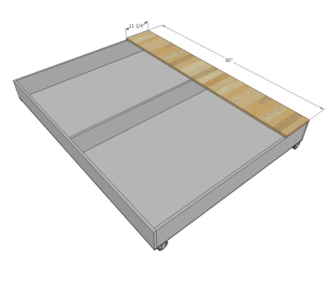 Queen trundle bed with storage - Note Weight Limit On Your Casters And Add Additional As Needed To Cover Your Expected Weight Requirements We Did A Locking Wheel At The Front And Swivels