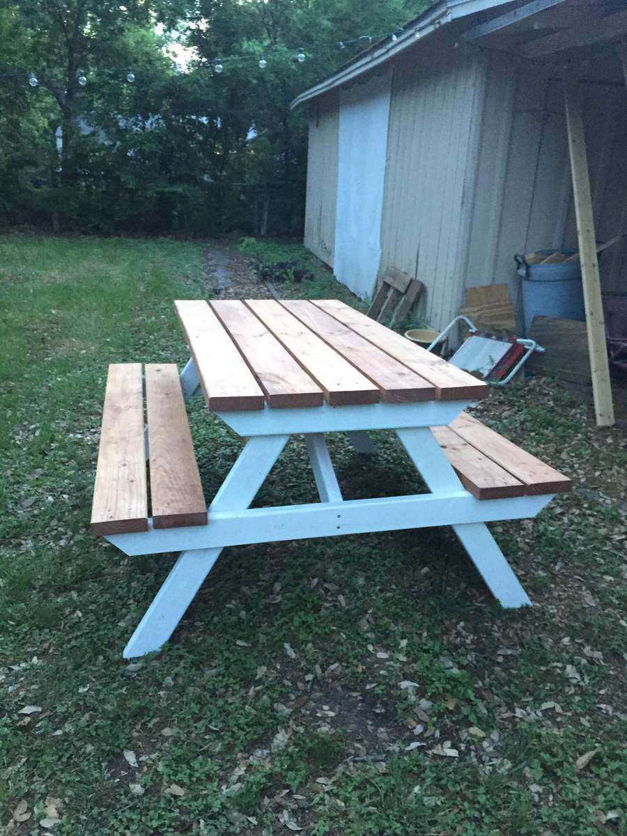 Ana White Wedding Picnic Table Diy Projects