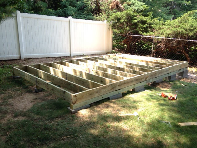 Ana White Diy Storage Shed With Mower Ramp And Steps