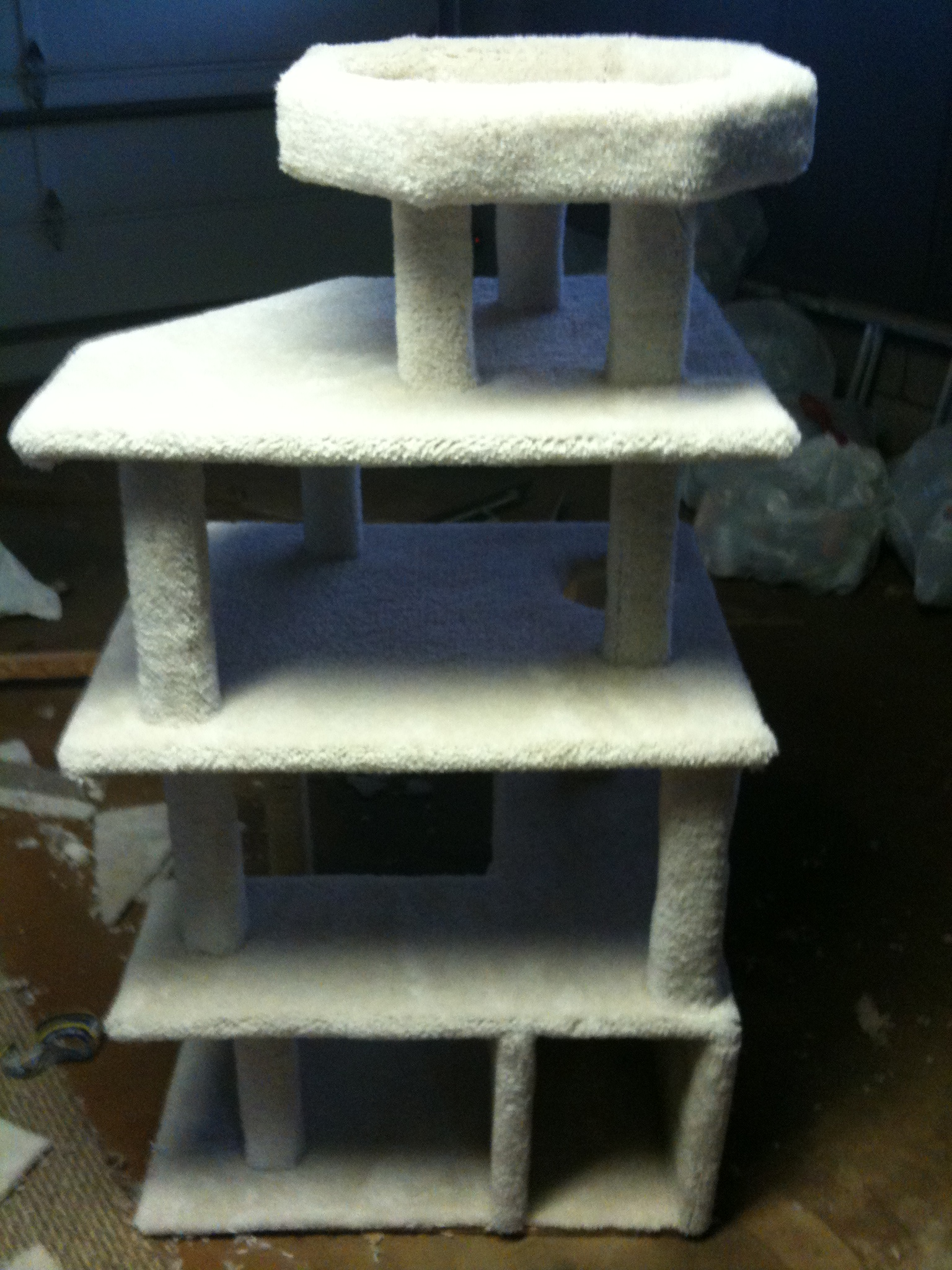 Ana White Cat Condo Diy Projects