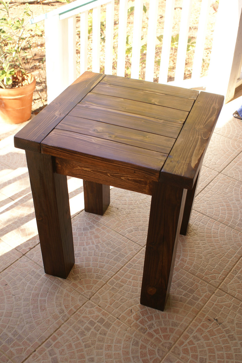 30 Creative Side Table Woodworking Plans smakawycom