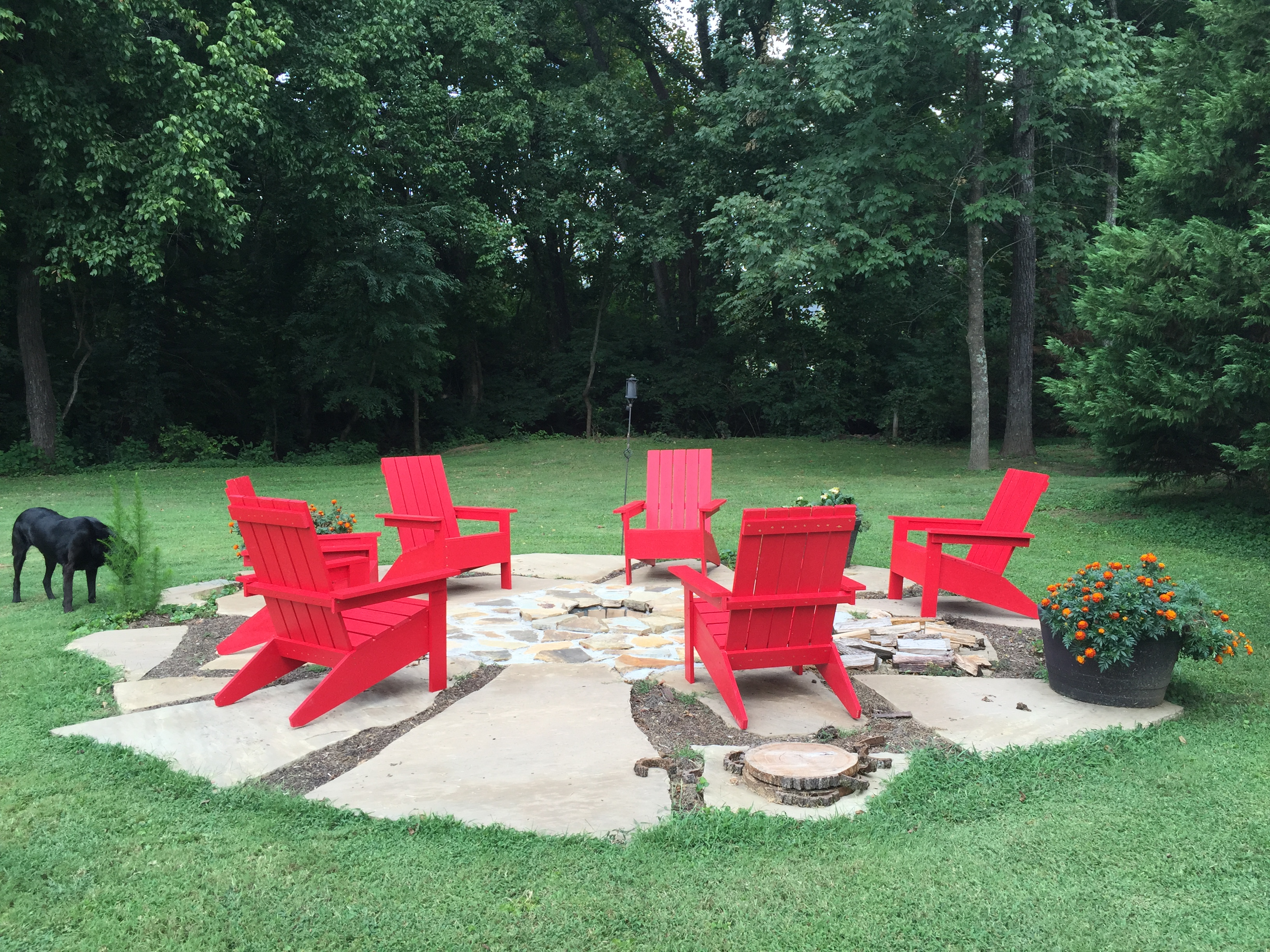 Ana White Adirondack Chairs For Our Fire Pit Diy Projects