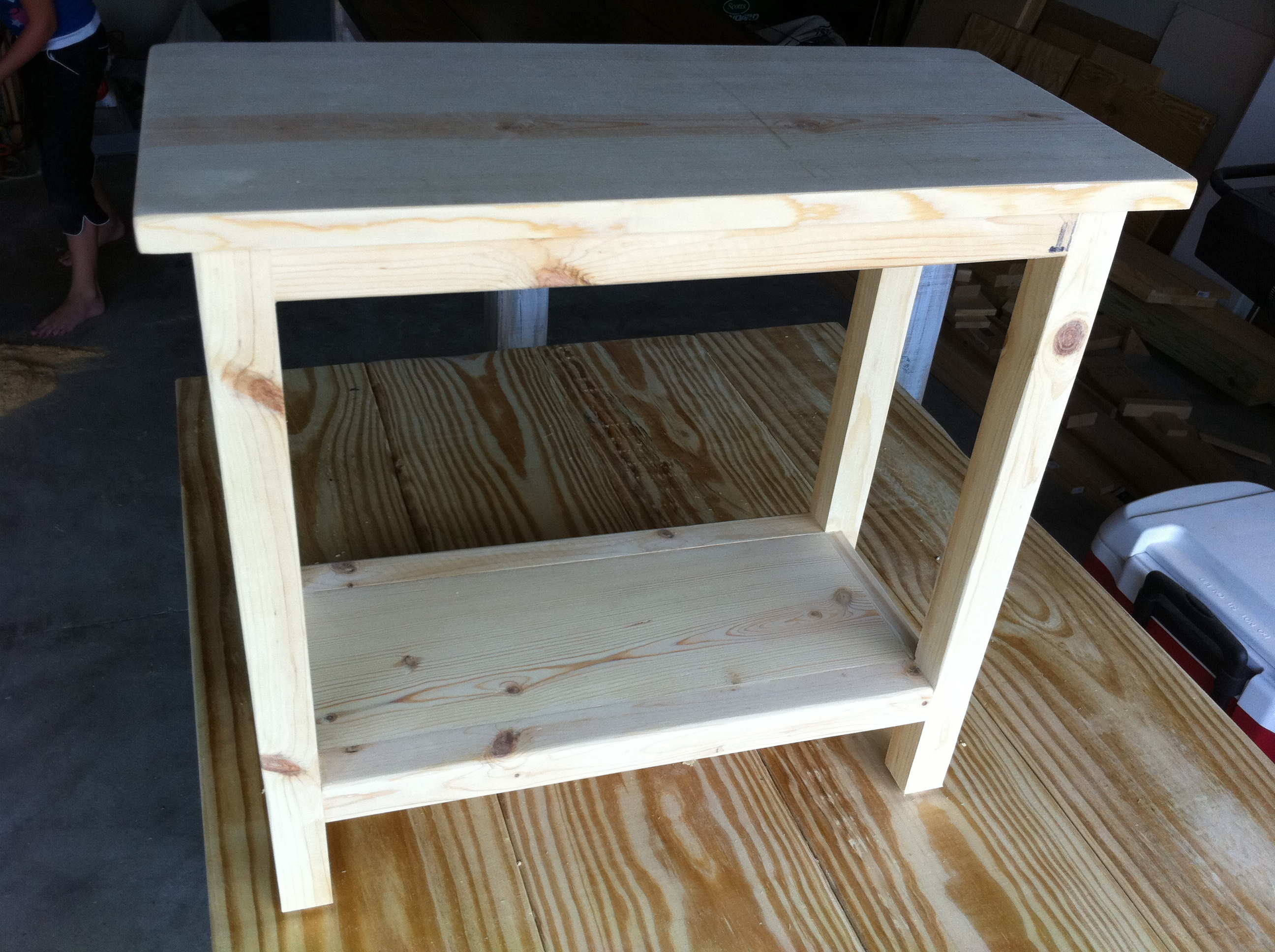 Narrow Modifed End Table