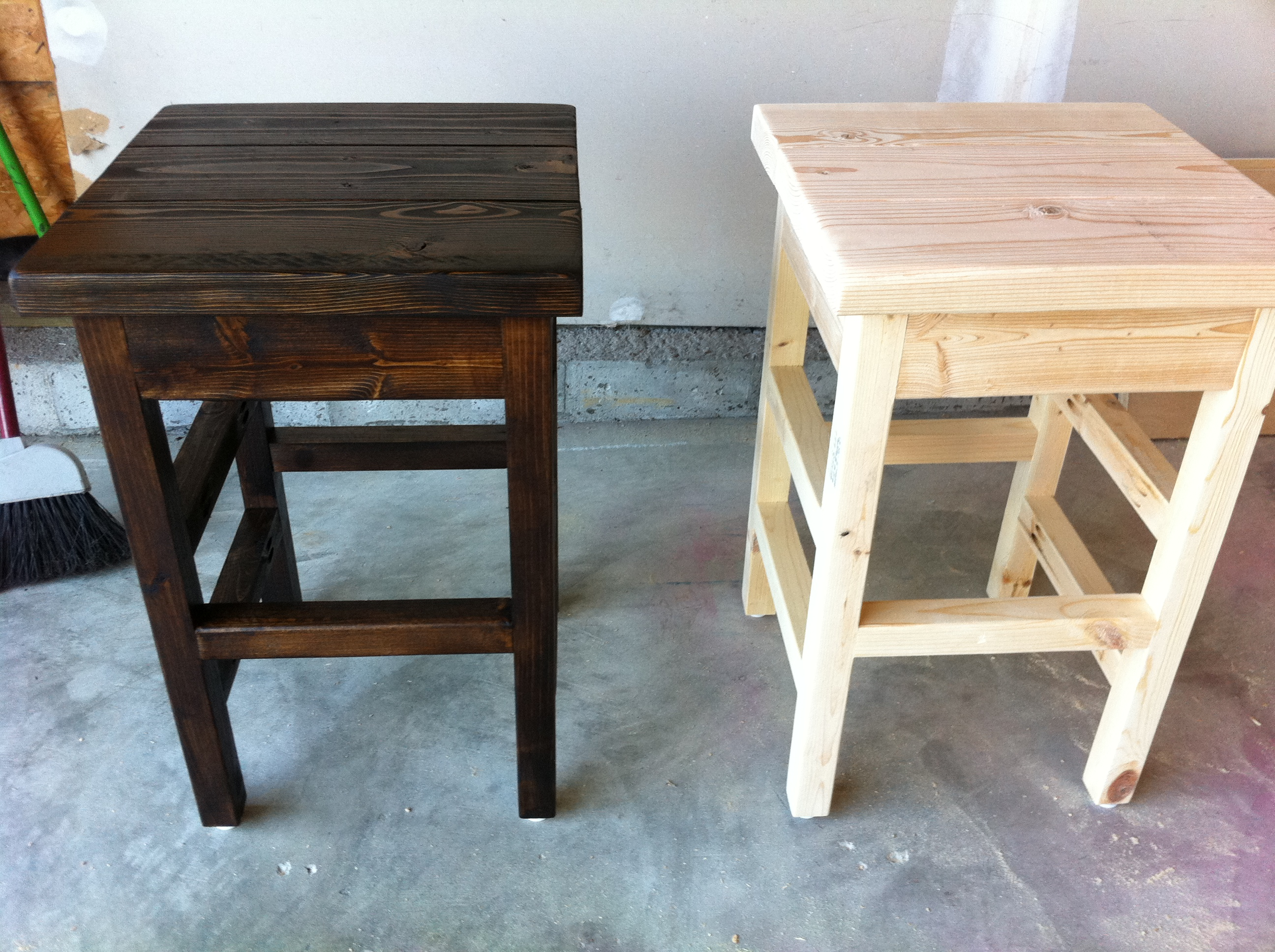 Ana White Simple Bar Stools Diy Projects