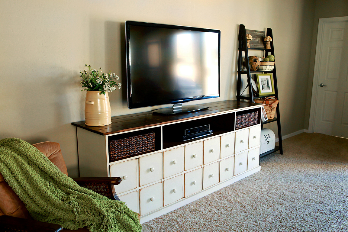 White Media Console Furniture. Apothecary Media Console White Furniture M