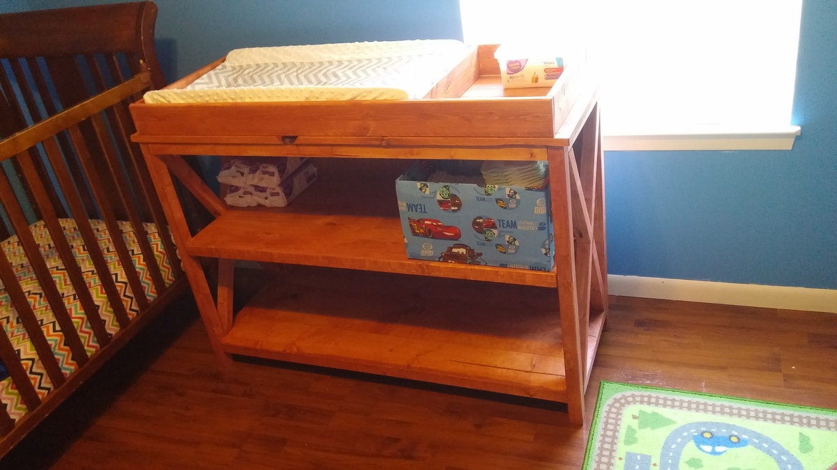Ana White Twin Changing Table Diy Projects