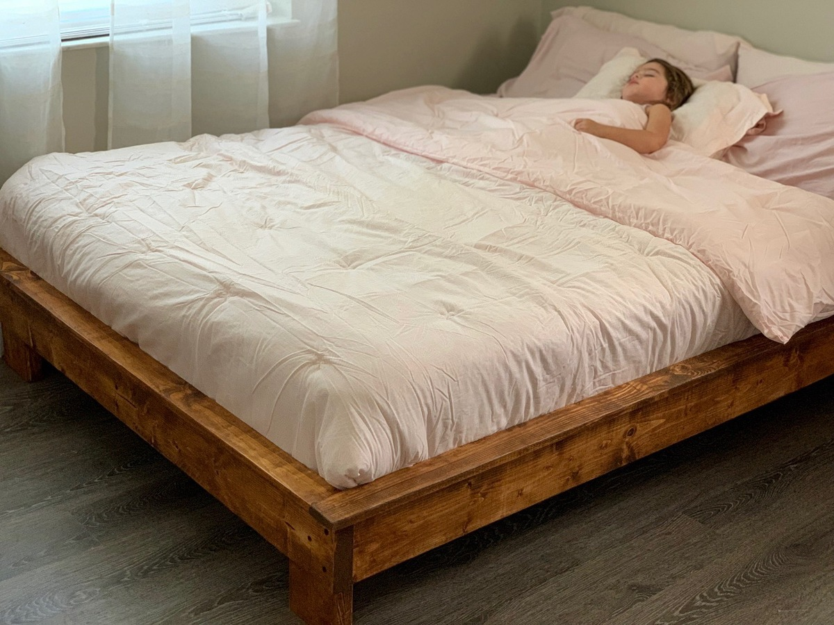 Picture of: My Daughters Platform Bed Ana White