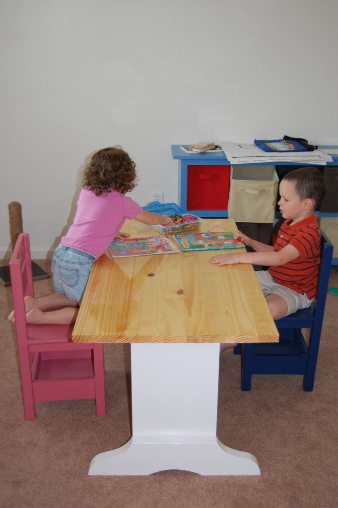 Ana White Children S Homeschool Craft Play Area In Our