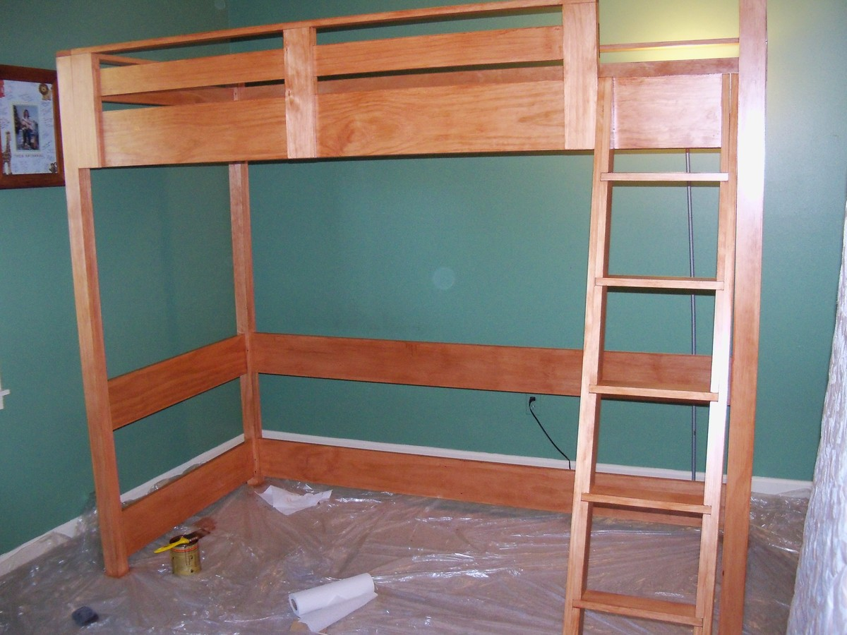 turning the loft bed into a bunk bed - Bunk Loft Bed Plans