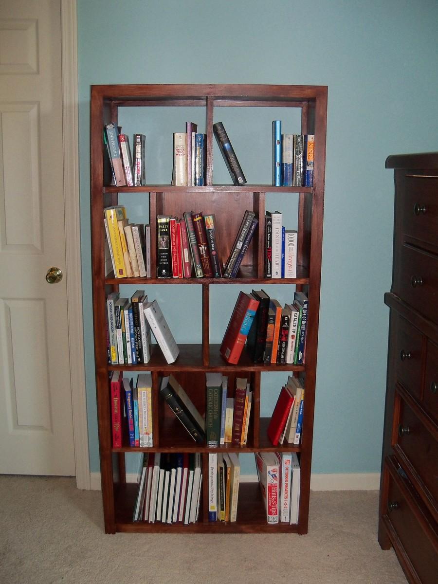 Subway Tile Bookcase Ana White