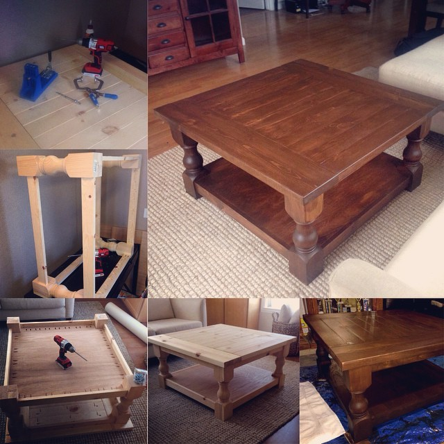 Ana White Corona Square Coffee Table Diy Projects